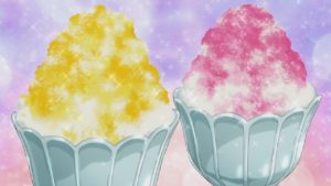 gorgeous anime shaved ice